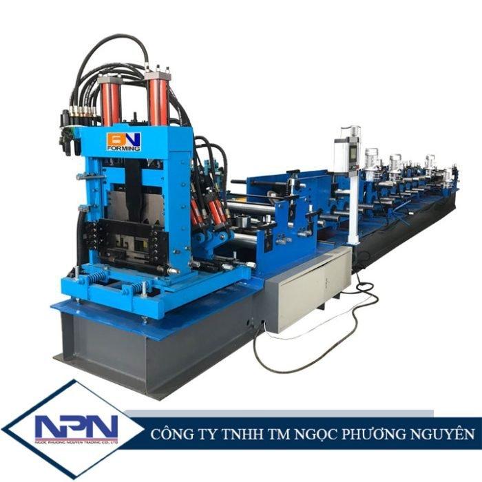 Máy tạo hình xà gồ C U hoàn toàn tự động 300-500mm BNF-CU