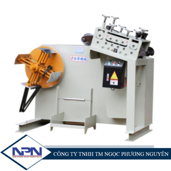 Máy xả cuộn, nắn thẳng phôi GO150-500mm (2in1)