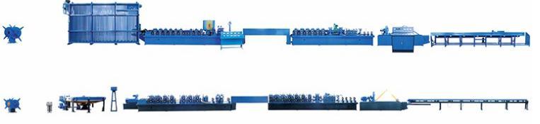 Dây chuyền sản xuất ống hàn dọc BNF-P32