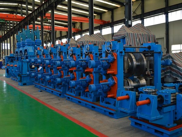 Dây chuyền sản xuất ống/hộp hàn dọc BNF-P406