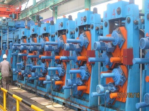 Dây chuyền sản xuất ống/hộp hàn dọc BNF-P508